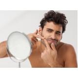 clínica para tratamento de cicatriz de acne masculino Brooklin