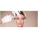 preenchimento facial para testa em clínica Vila Olímpia
