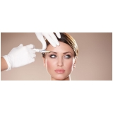 preenchimento facial para testa em clínica Vila Mariana