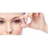 preenchimento facial na área dos olhos