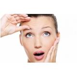 tratamento rugas na testa